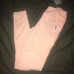 Gymshark Pink true texture leggings S